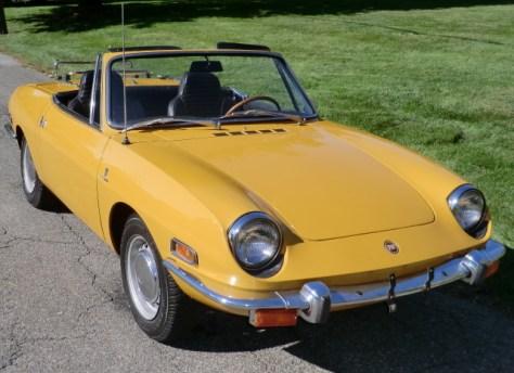 1970 fiat 850 spider | classic italian cars fs