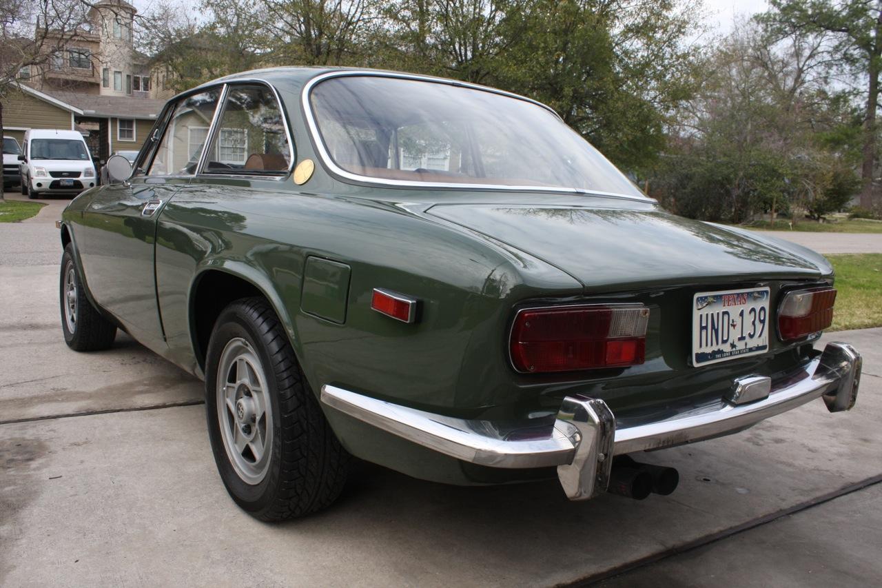 1969 alfa romeo gtv classic italian cars for sale. Black Bedroom Furniture Sets. Home Design Ideas