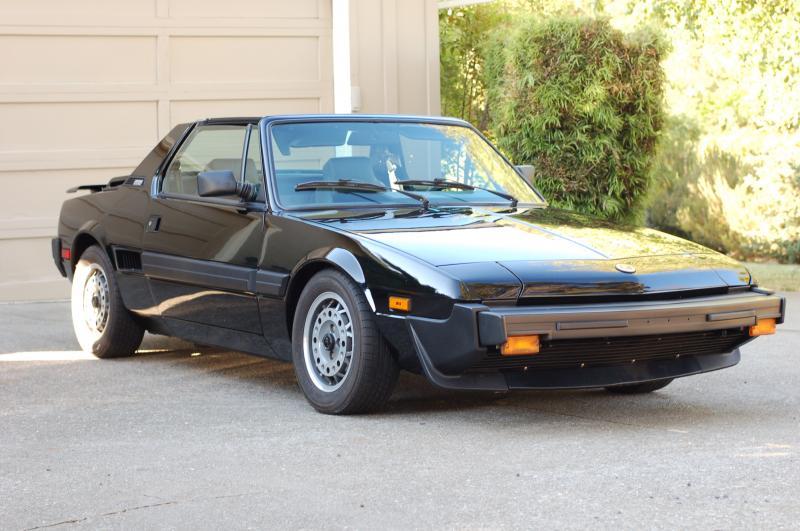 1987 bertone x1 9 classic italian cars for sale. Black Bedroom Furniture Sets. Home Design Ideas