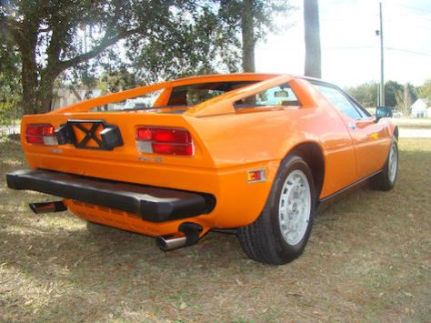 this a 1977 maserati merak ss a very unique car it has a great color combination orange exterior with black leather interiors the car has ac