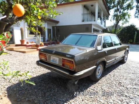 1985 Alfa Romeo 6 2.5 Turbo Diesel