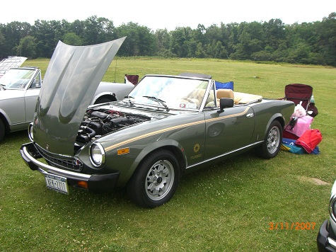 1981 Fiat 2000 Spider Turbo | Clic Italian Cars For Sale