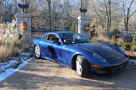 2005 Ferrari 612 Scaglietti 6-speed manual