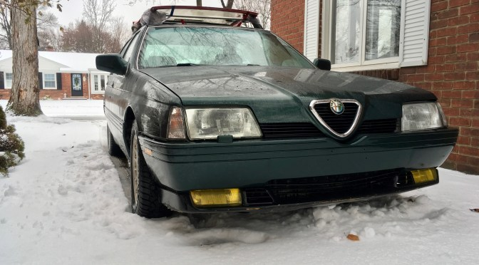 CICFS Blog: our Alfa Romeo 164L winter car