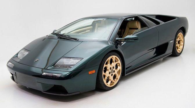 2001 Lamborghini Diablo Vt 6 0 Classic Italian Cars For Sale