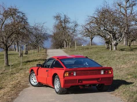 1984 Lancia 037 Stradale red rear