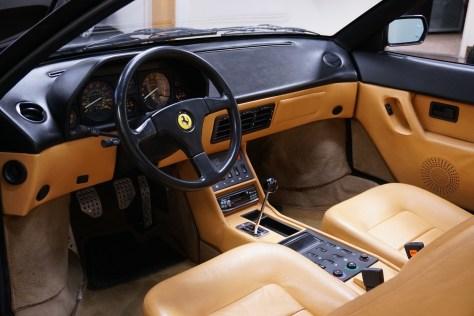 1989 Ferrari Mondial T black interior tan