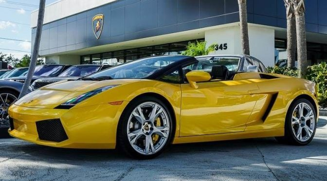 2007 Lamborghini Gallardo Spyder Manual Classic Italian Cars For Sale