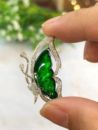green jade butterfly