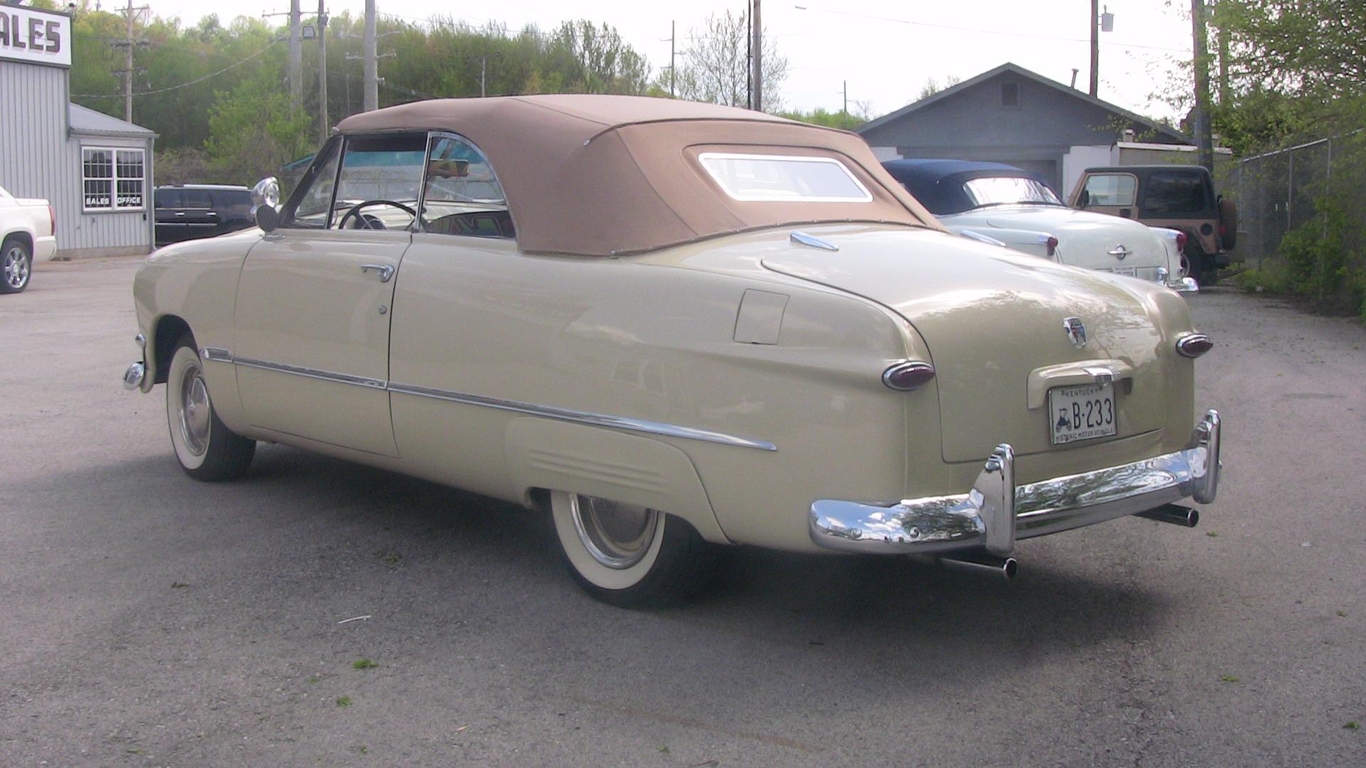 1950 Ford Convertible Stock A103 For Sale Near Cornelius