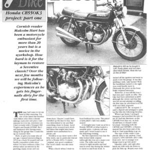 Honda CB550 K3