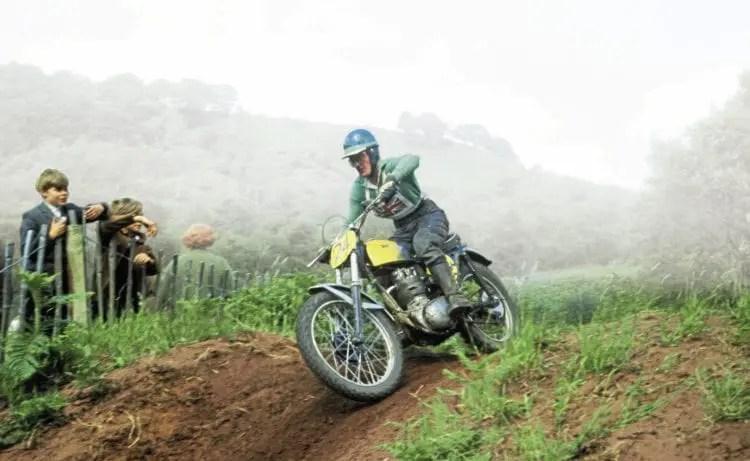 Vic Eastwood riding a BSA 250cc BSA Star