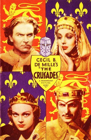 Image result for c b demille the crusades