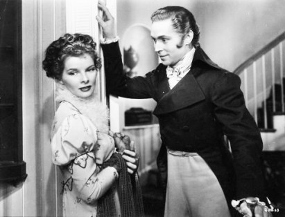 Image result for franchot tone and kate hepburn in quality street