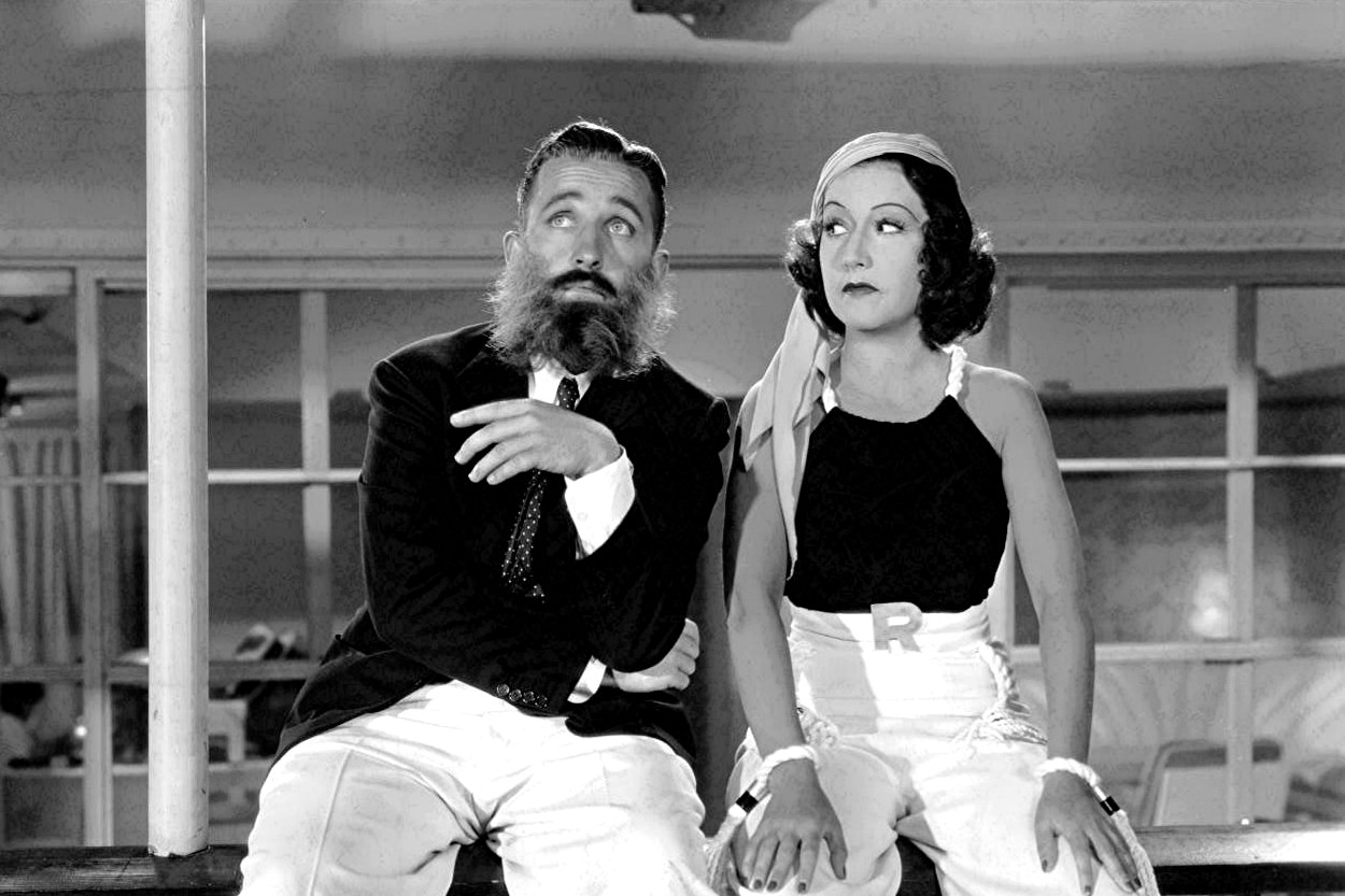 Bing Crosby and Ethel Merman singing You're The Top in Anything Goes, Cole Porter, Lewis Milestone