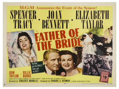 Spencer Tracy, Father of the bride, classic film, vincente minnelli
