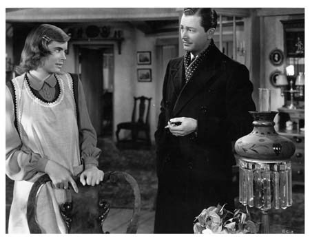 Dorothy McGuire in The Enchanted Cottage, Classic Movie Actress, John Cromwell