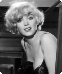 Marilyn Monroe in Some Like It Hot, Classic Movie Actress, Billy Wilder