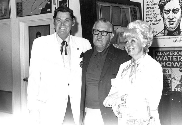 Johnny Weissmuller, Founding Chairman International Swimming Hall of Fame