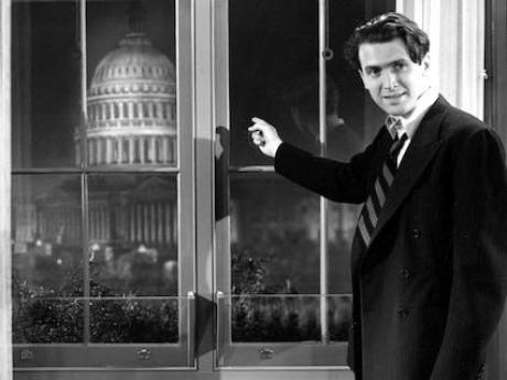 James Stewart in Mr Smith Goes to Washington, Frank Capra