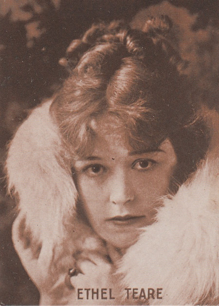 Ethel Teare portrait