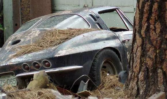 Corvette Split window barn find