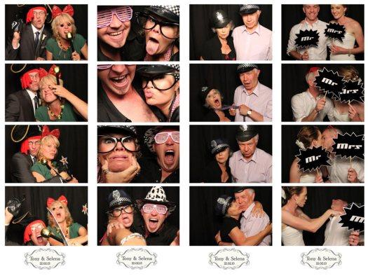 Tony & Selena's Photobooth Wedding