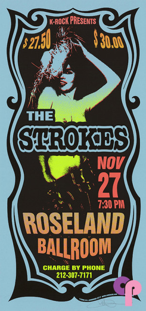 the strokes classic posters