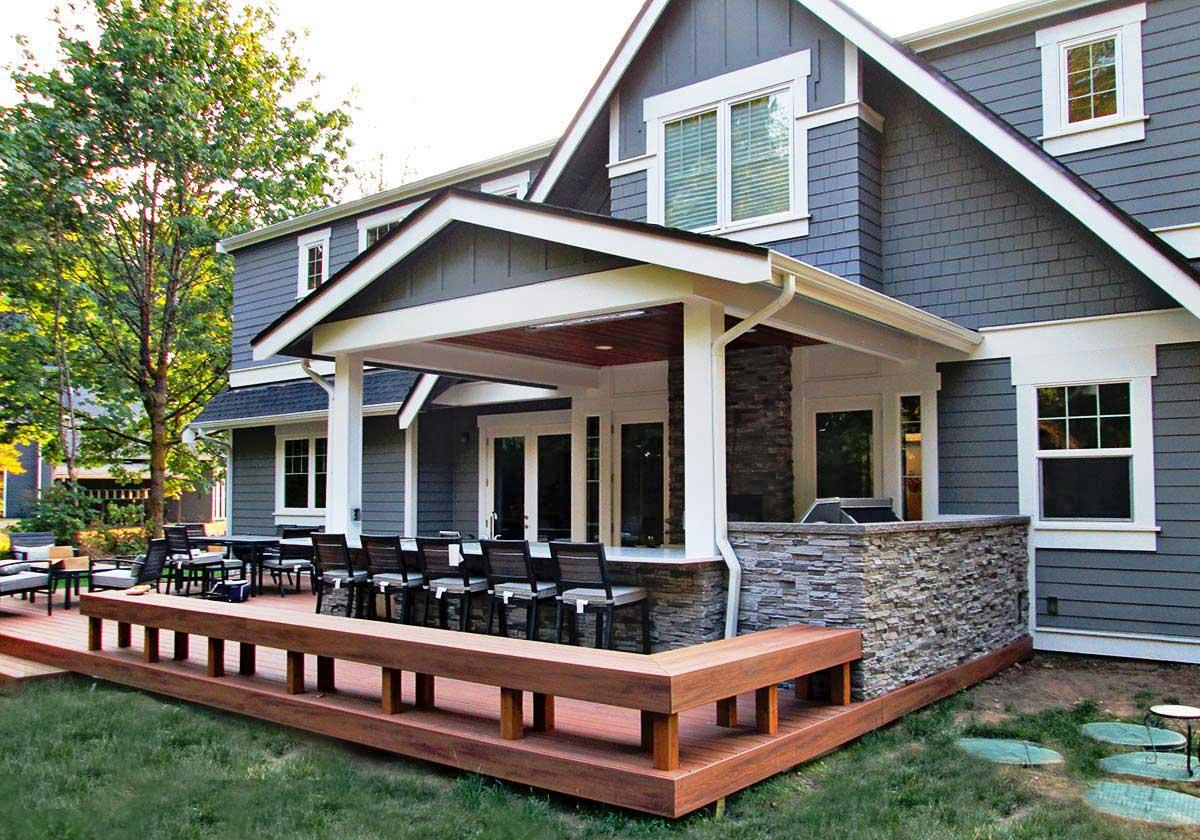 gerber residence back patio remodel