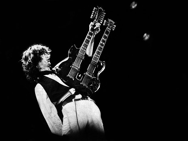Jimmy Page Guitar Solos