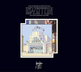 Led Zeppelin The Songs Remians The Same Soundtrack Album Cover