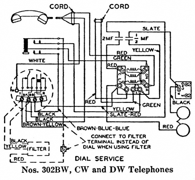 Candlestick Telephone Wiring Diagram : Western electric candlestick telephone wiring diagram