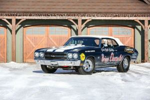 1970 Chevrolet Chevelle LS6 Convertible Super Stock Championship Drag Car