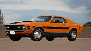 1970 Ford Mustang Mach 1 Twister Special