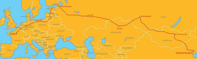 7th Peking to Paris Motor Challenge 2019 Route