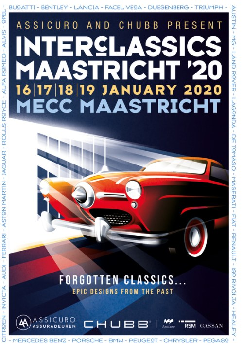 Interclassics Maastricht 2020 Studebaker Champion Regal Deluxe Starlight Coupe