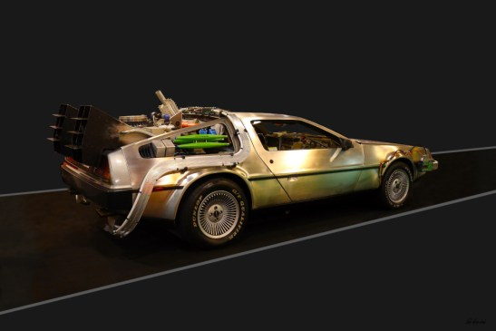 DMC DeLorean Back to the Future Movie Car Zurück in die Zukunft Film Auto