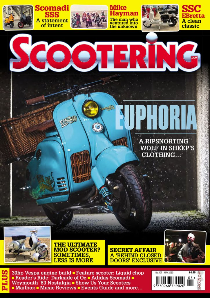 May issue of Scootering