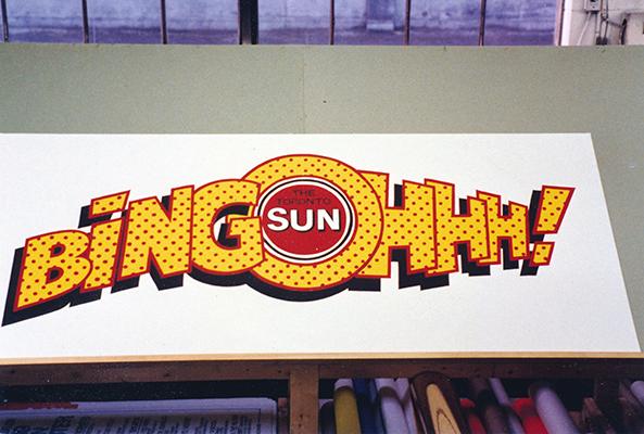 The Toronto Sun Bingo Banner