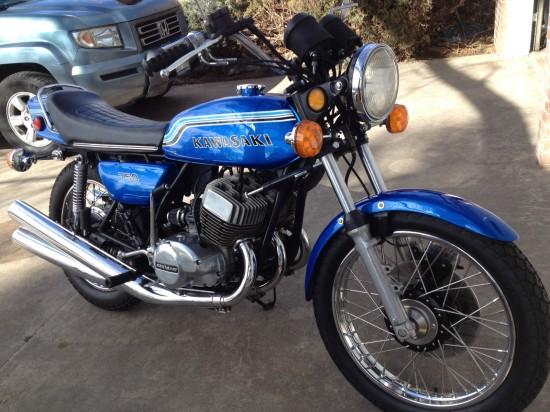 1972 Kawasaki H2 750 R Front
