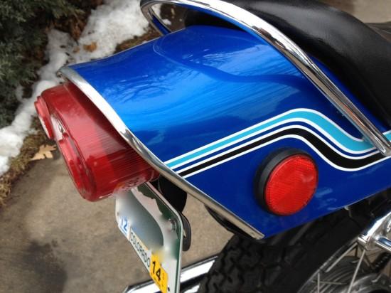 1972 Kawasaki H2 750 R Tail