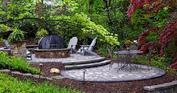 Classic Stonescaping patio 1