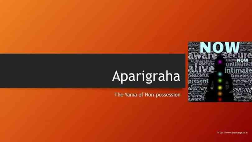 Aparigraha