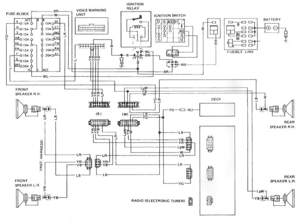 Datsun 280z Wiring Harness Diagram Free Engine Image For User Manual Download
