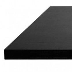 plateau de table noir class mobilier