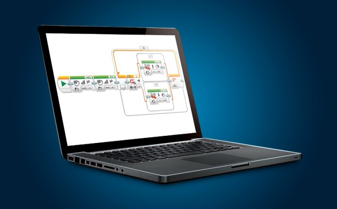 ev3-software-on-laptop
