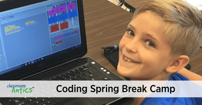 Coding Spring Break Camp