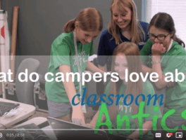 Why Campers Love Classroom Antics