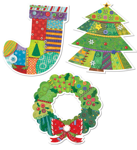 Christmas Cut Out Decorations