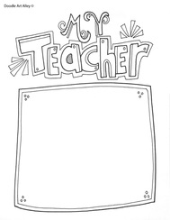 teacher appreciation coloring pages # 16